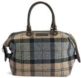 Barbour Women's Munro Tartan Mini Holdall Bag Winter Tartan