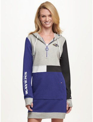 Tommy Hilfiger Baltimore Ravens Hoodie Dress
