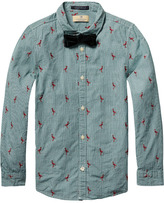 Scotch & Soda Embroidered Dress Shirt