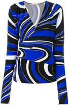 Emilio Pucci wrap blouse