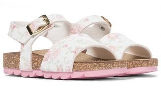 MonnaLisa Baby floral sandals