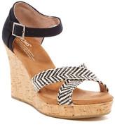 Toms Platform Wedge Sandal