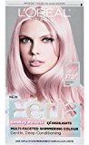 L'Oreal Hair Color Feria Pastels, P2 Rosy Blush (Smokey Pink)