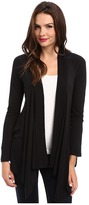 Splendid Very Light Jersey Drape Cardigan Women's Sweater