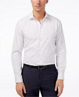 Alfani Slim Fit + Stretch Dot Print Dress Shirt, Only at Macy's