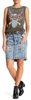 One Teaspoon Mustang 2020s Denim Skirt