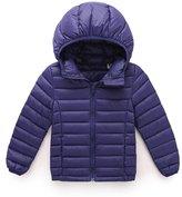 Coway Kids Unisex Hooded Packable Ultra Light Weight Short Down Jacket