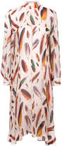 Paul Smith feather print dress