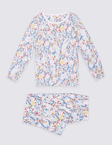 Marks and Spencer Cotton Printed Pyjamas (9 Months - 8 Years)