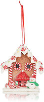 Kurt S Adler Xmas LED Gingerbread House Ornament
