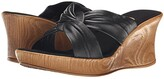 Onex Puffy (Black) Women's Wedge Shoes