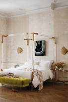 Anthropologie Oscarine Lucite Four-Poster Bed