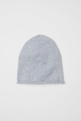H&M Fine-knit silk-blend hat