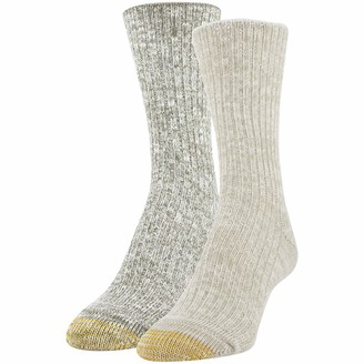 Gold Toe Women's Camp Crew Socks 2 Pairs