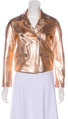 Veda Leather Moto Jacket w/ Tags