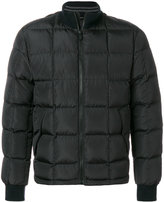 Z Zegna padded bomber jacket