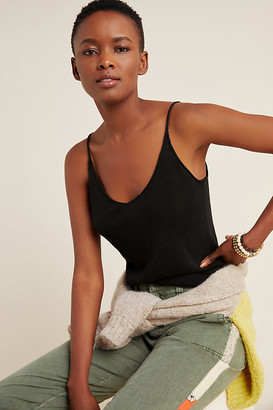 Tomasa Knit Tank By Current Air in Black Size XS