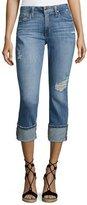 Joe's Jeans Clean 4 Skinny Crop Denim Pants, Indigo