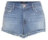 J Brand Sachi mid-rise denim shorts