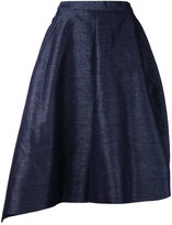 Taro Horiuchi asymmetric pointy shorts - women - Polyester/Cotton - 1