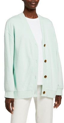 Vince Oversized Button-Front Cardigan