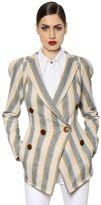 Vivienne Westwood Striped Cotton Canvas Jacket