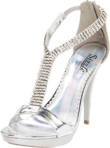 Coloriffics Sizzle by Women's Reno T-Strap Sandal