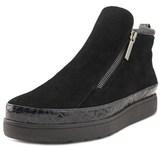 Donald J Pliner Meira 2 Women Suede Black Fashion Sneakers.