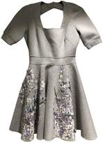 Philipp Plein Grey Cotton Dress for Women