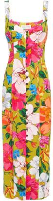 Mara Hoffman Angelica Floral-print Tencel-blend Midi Dress