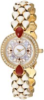 Titan Women's 9747YM01 Theme Raga Intricate Jewelry Inspired Crystal Gold Tone Watch