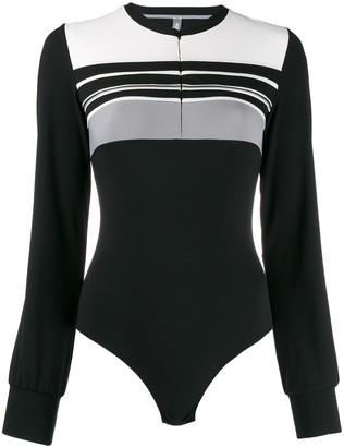 NO KA 'OI Intrigue bodysuit top