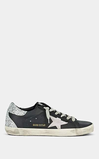 Golden Goose Women's Superstar Leather Sneakers - Black