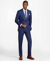 Brooks Brothers Milano Fit Sharkskin 1818 Suit