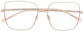 M Missoni Square Frame Optical Glasses