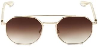 Barton Perreira Metis 55MM Navigator Sunglasses