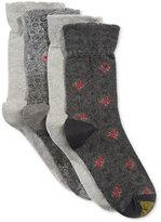 Gold Toe Women's 4-Pk. Renaissance Floral Socks