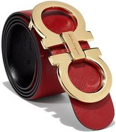 Salvatore Ferragamo Reversible Big Gold Buckle Belt
