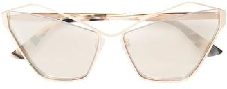 McQ Swallow Asymmetric Cat-Eye Sunglasses