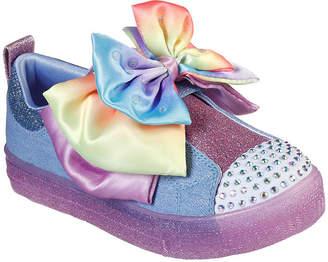 Skechers Twinkle Toes Shuffle Brights Little Kid/Big Kid Girls Sneakers