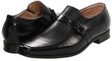 Stacy Adams Beau Moc Toe Slip On Loafer (Black) Men's Shoes
