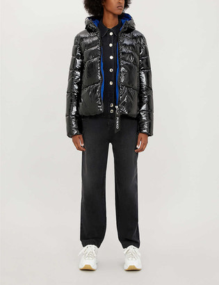 Pinko Tradurre quilted padded shell jacket