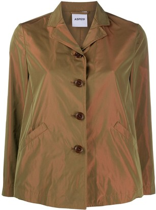 Aspesi Fitted Buttoned Jacket