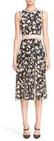 Michael Kors Women's Floral Print Carwash Pleat Dress