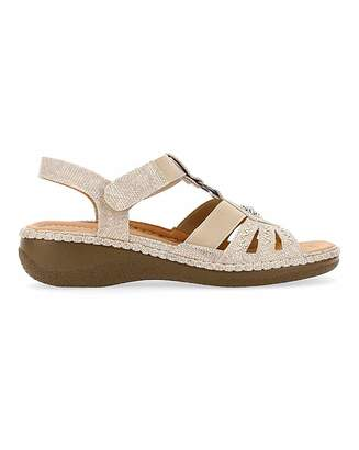 Cushion Walk Strappy Sandals E Fit