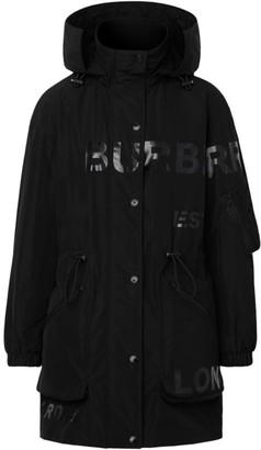 Burberry Dartmouth Logo Hooded Drawstring Jacket