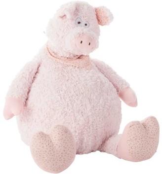 "Nourison Snuggle Buddies 26"" Oversized Piggy Plush Pillow"