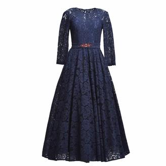 Matsour'i Lace Dress Viktoria Blue