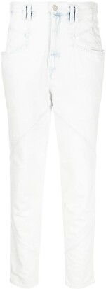 Isabel Marant High-Waist Cropped Jeans