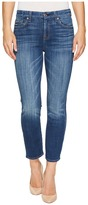 7 For All Mankind Kimmie Crop in Barrier Reef Broken Twill Women's Jeans